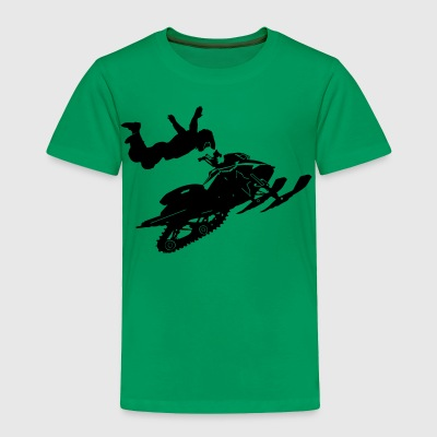 Snowmobil - Toddler Premium T-Shirt