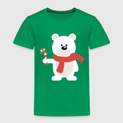 christmas /winter polar bear - Toddler Premium T-Shirt