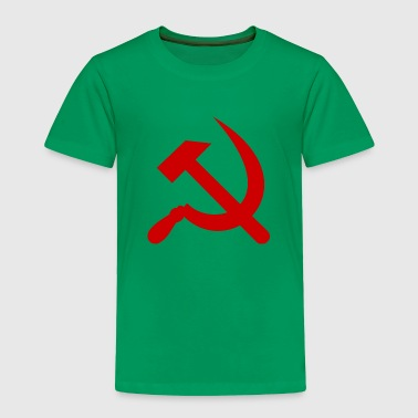 Communism hammer and sickle - Toddler Premium T-Shirt