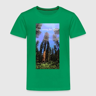 Gaze among the Trees - Toddler Premium T-Shirt
