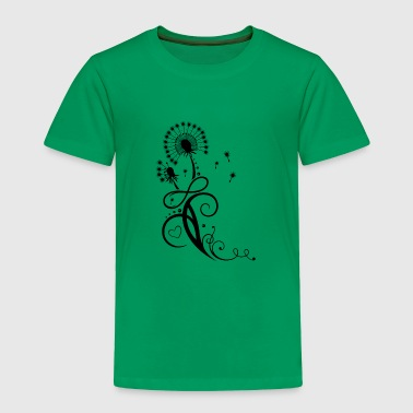 Dandelion with infinity symbol - Toddler Premium T-Shirt