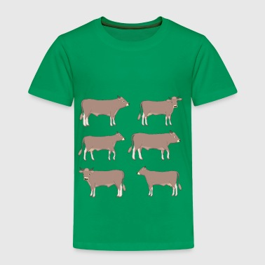 brown cattle - Toddler Premium T-Shirt