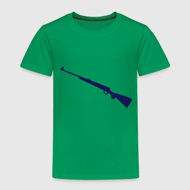 Hunting rifle for long sleeves - Toddler Premium T-Shirt