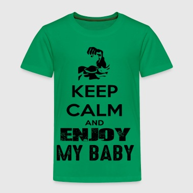 GIFT - ENJOY MY BABY BLACK - Toddler Premium T-Shirt
