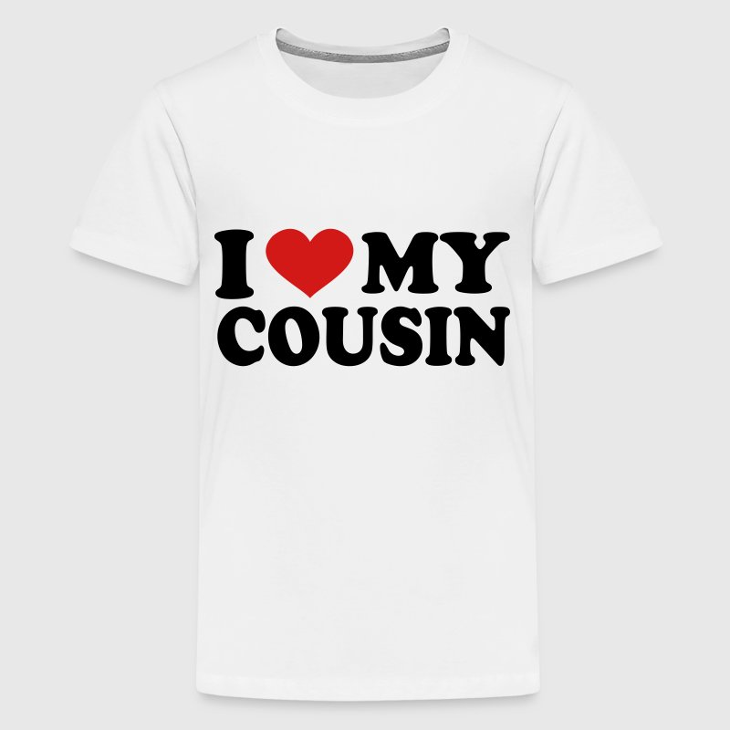 I Love my cousin - Kids' Premium T-Shirt