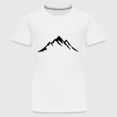 Mountain, Mountains - Kids' Premium T-Shirt