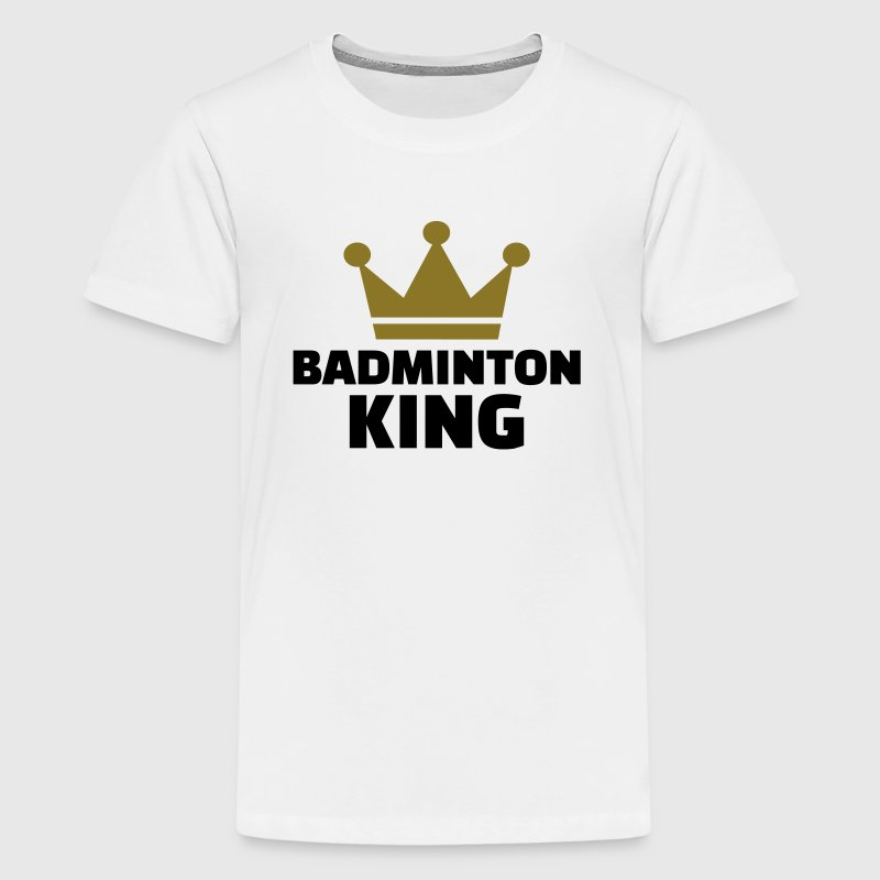 Badminton King - Kids' Premium T-Shirt