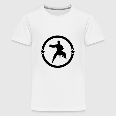 Aikido Aikidoka Sport Fight Fighter Strong - Kids' Premium T-Shirt