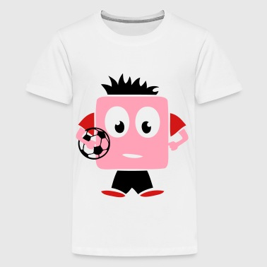 soccer player character funny  - Kids' Premium T-Shirt