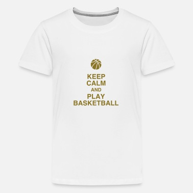 Basket Quotes Basketball Basket ball Basket-Ball Game Sport - Kids' Premium T-Shirt