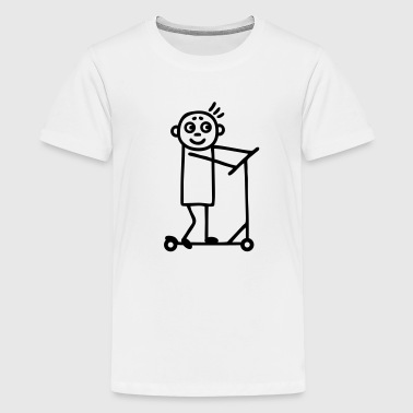 Kick Scooter / Board  - Boy - Kids' Premium T-Shirt