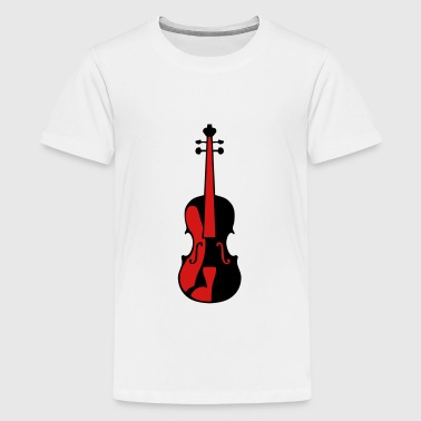 violin music instrument 506 - Kids' Premium T-Shirt