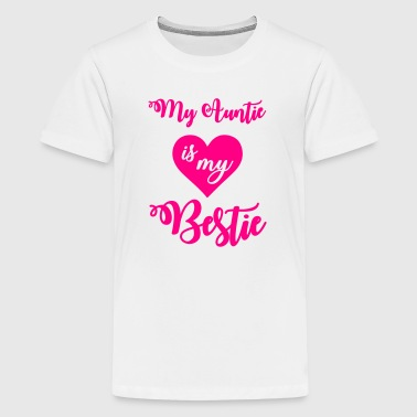 My auntie is my bestie - Kids' Premium T-Shirt
