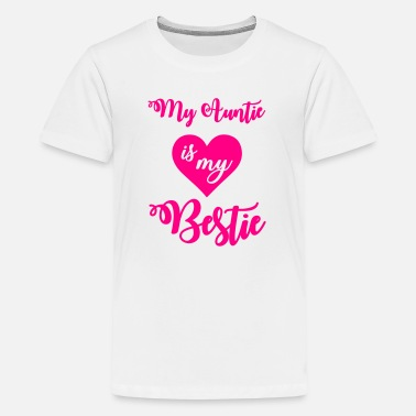 Niece My auntie is my bestie - Kids' Premium T-Shirt