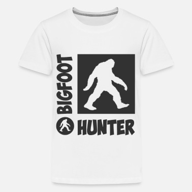 Bigfoot Kids HUNTER 12.png - Kids' Premium T-Shirt