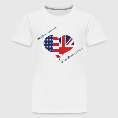 Made in America with British Parts - Kids' Premium T-Shirt