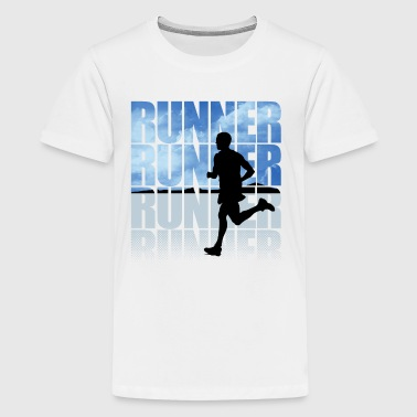 Runner-01 - Kids' Premium T-Shirt