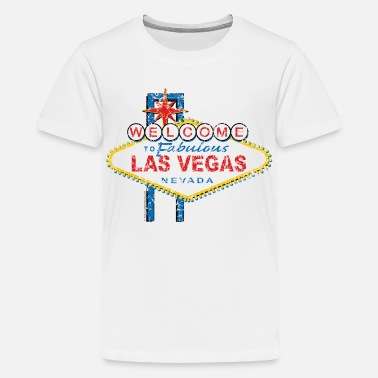 Welcome To Las Vegas Welcome-to-Las-Vegas-Dist - Kids' Premium T-Shirt