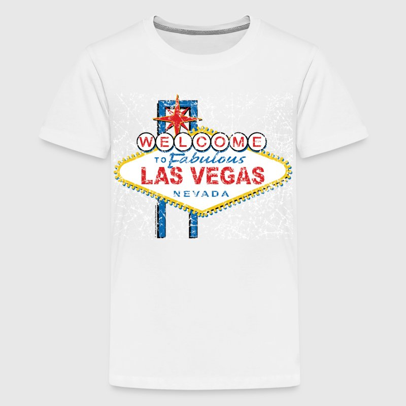 Welcome-to-Las-Vegas-Dist - Kids' Premium T-Shirt