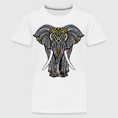 India Elephant - Kids' Premium T-Shirt