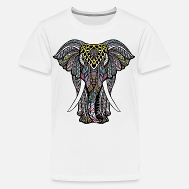 Geek India Elephant - Kids' Premium T-Shirt