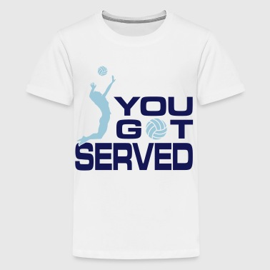 volleyball: you got served - Kids' Premium T-Shirt