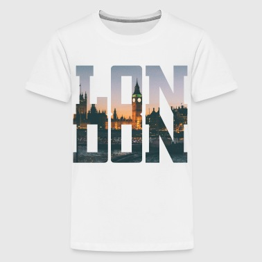 London Has Fallen London City Typography - Kids' Premium T-Shirt