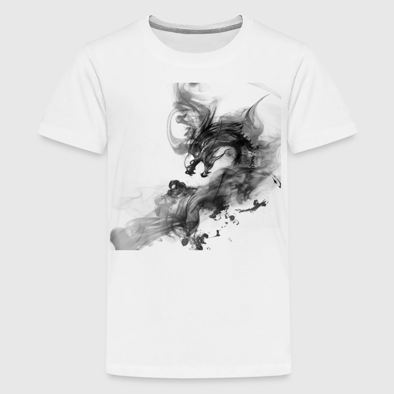 smoke dragon - Kids' Premium T-Shirt