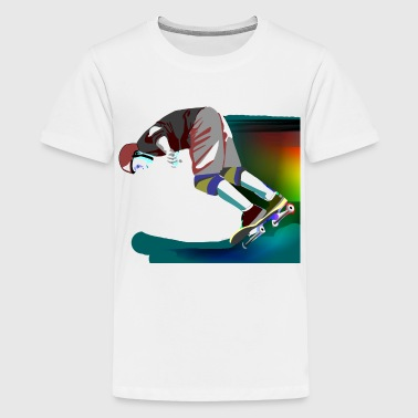 Skateboards Skateboarding - Kids' Premium T-Shirt