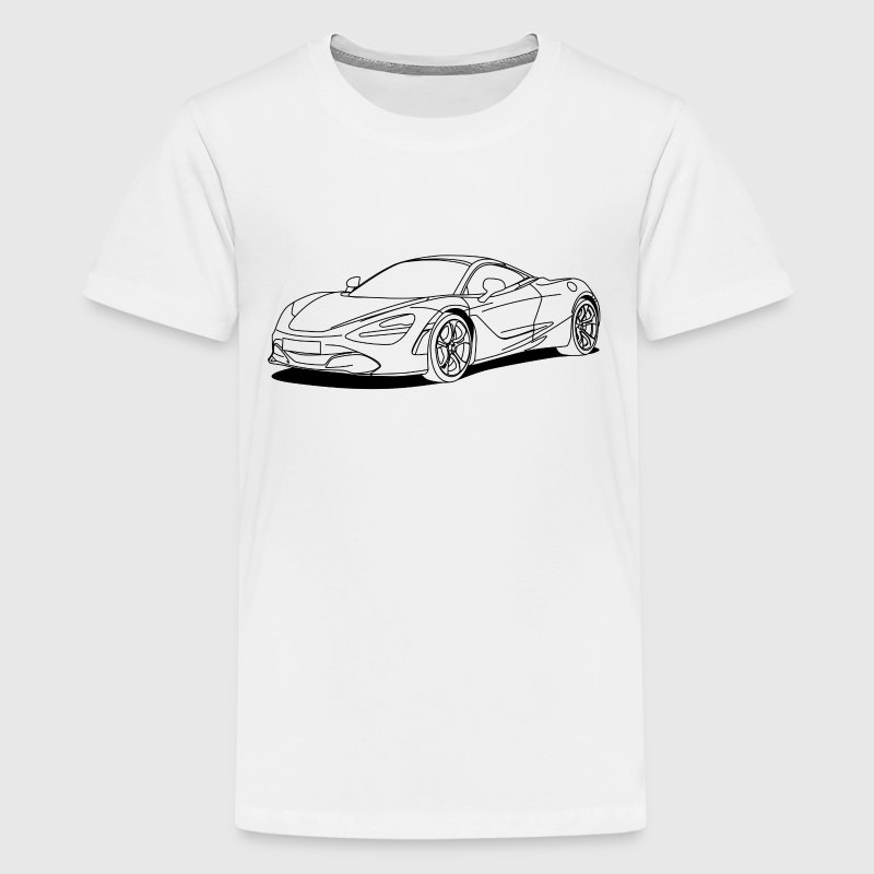 720s outline - Kids' Premium T-Shirt