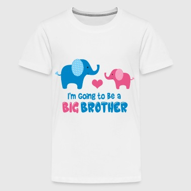 Big Brother To Be - Kids' Premium T-Shirt