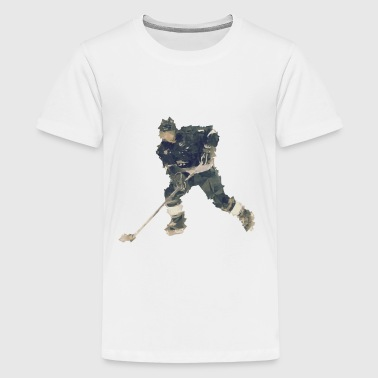 Art ice hockey player - Kids' Premium T-Shirt