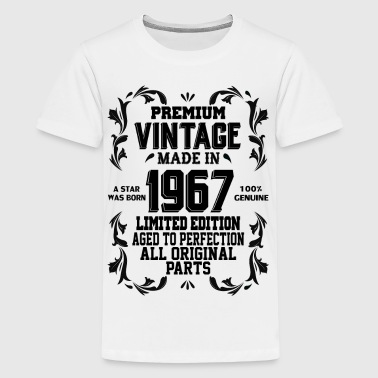 Premium Vintage Made In 1967 Legend Was Born Aged Premium Vintage 1967 - Kids' Premium T-Shirt