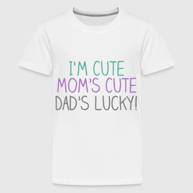 Cute Cute Lucky Baby - Kids' Premium T-Shirt