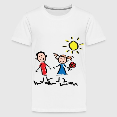kids love - Kids' Premium T-Shirt