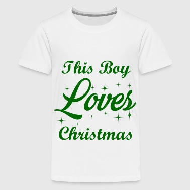 this boy 12.png - Kids' Premium T-Shirt