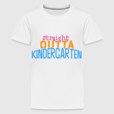 Straight outta Kindergarten  - Kids' Premium T-Shirt