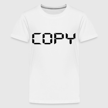 Copy - Copy and Paste - V - Kids' Premium T-Shirt
