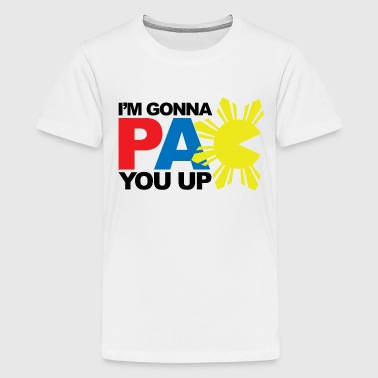 Pinoy Apparel PAC You Up Kids Tee Shirt by AiReal Apparel  - Kids' Premium T-Shirt