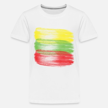 Lithuanian Flag lithuania flag lithuanian - Kids' Premium T-Shirt