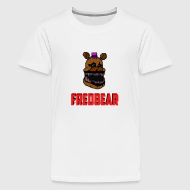 FNAF 4: Cartoon Fredbear - Kids' Premium T-Shirt