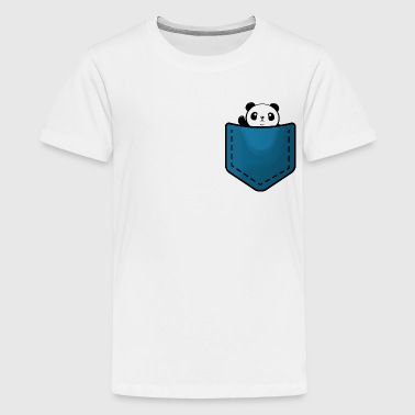 Panda Panda in a pocket - Kids' Premium T-Shirt