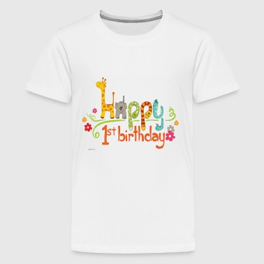 happy 1st birthday kids - Kids' Premium T-Shirt