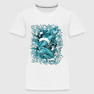PISCES FISH TATTOO - Kids' Premium T-Shirt