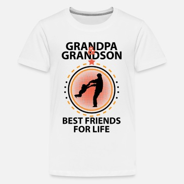 Grandpa And Grandson Grandpa And Grandson Best Friends For Life - Kids' Premium T-Shirt