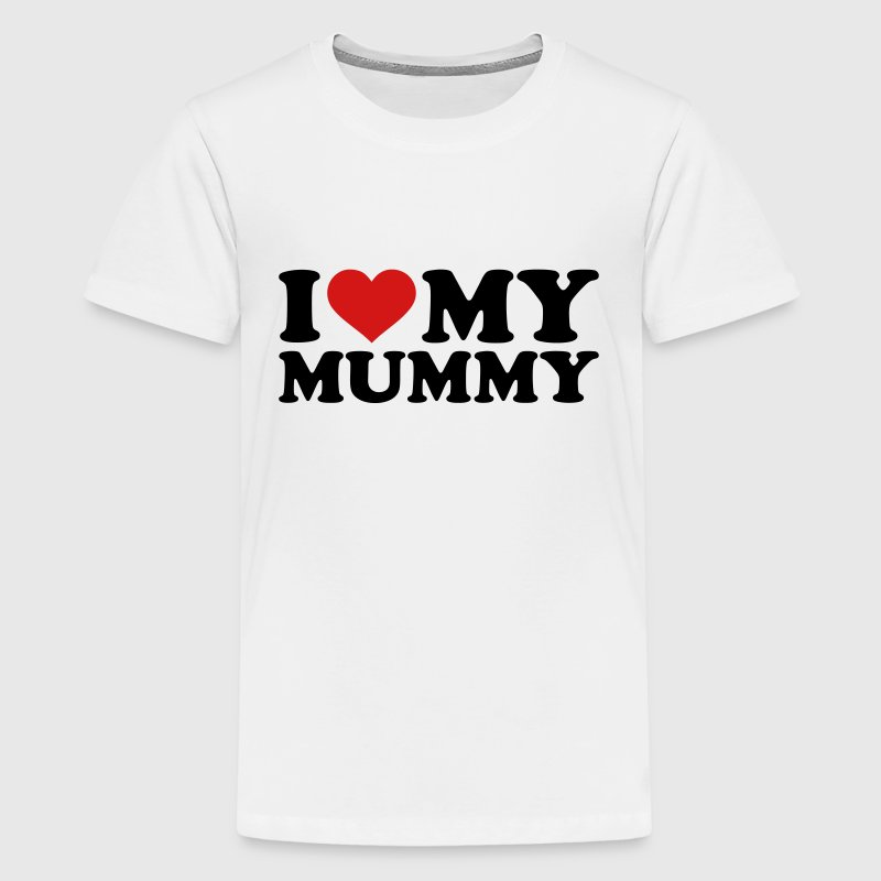 I love my Mummy - Kids' Premium T-Shirt