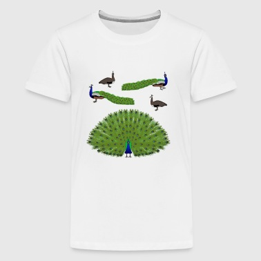 Peacocks - Kids' Premium T-Shirt