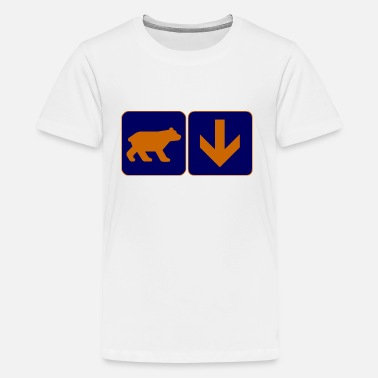 Bear Down Bear Down Football Windy City - Kids' Premium T-Shirt