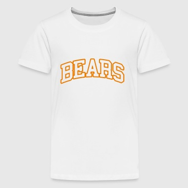 Big Bold Bears Football - Kids' Premium T-Shirt