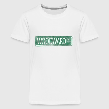 Woodward Avenue Detroit M1 - Kids' Premium T-Shirt